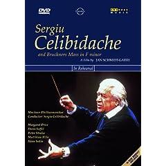 DVD セルジウ・チェリビダッケ ブルックナー: ミサ曲 第3番 ヘ短調 - リハーサルとコンサートのAmazonの商品頁を開く