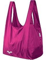 Arena Picky Beach Bag, (Fuchsia/White)