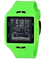 "Vestal Men's BRG022 ""Brig Tide & Train"" Sport Watch with Green Polyurethane Band"