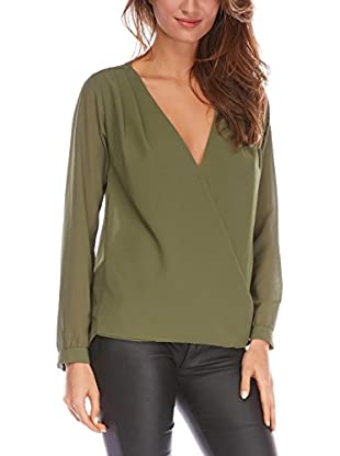 FRENCH CODE Bluse Fauve