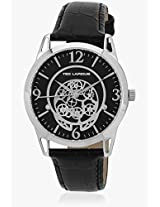 5127301 Black/Black Analog Watch Ted Lapidus