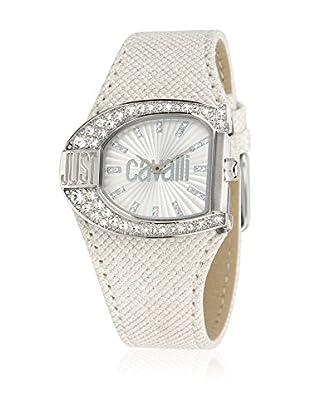Just Cavalli Reloj de cuarzo Woman Jc Logo Blanco 36 mm