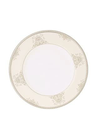 Mikasa Floral Elegance Bread & Butter Plate, White/Platinum