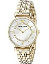 Emporio Armani Analog Mother of Pearl Dial Women's Watch - AR1907