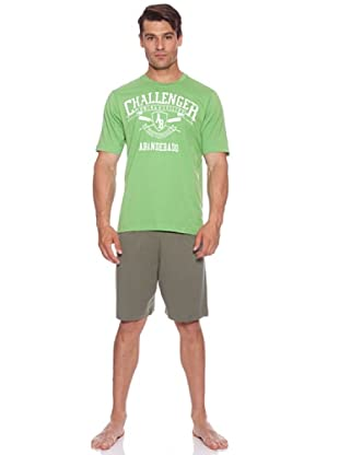 Abanderado Pijama Abn Challenger (Verde)