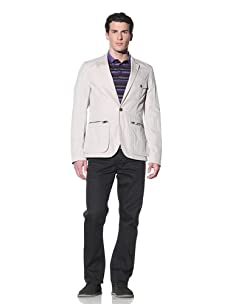 French Connection Men's Nyco Twill Blazer (Stone)