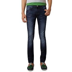 Louis Philippe Fashionable Cotton Jeans