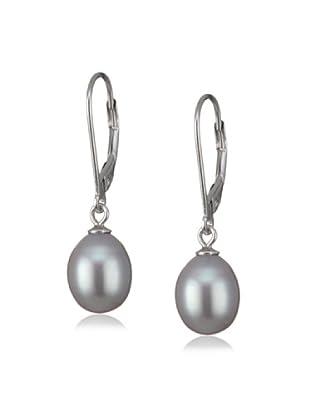 Valero Pearls 60201692 - Pendientes de mujer de plata de ley con perla de agua dulce