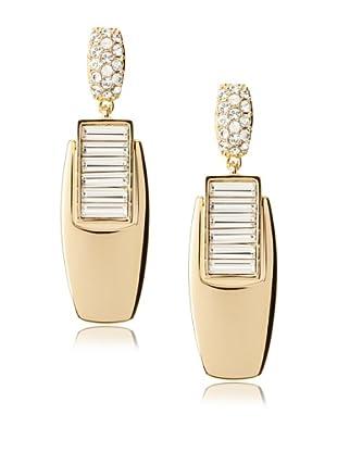 Judith Leiber Deco Earrings