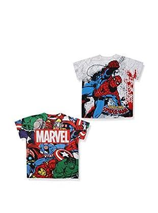 ZZZ-MARVEL 2tlg. Set T-Shirts Pack 11