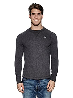 Abercrombie & Fitch Pullover Classic Crew (dunkelgrau)