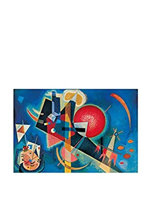 Artopweb Panel Decorativo Kandinsky Im Blau 90x60 cm Multicolor