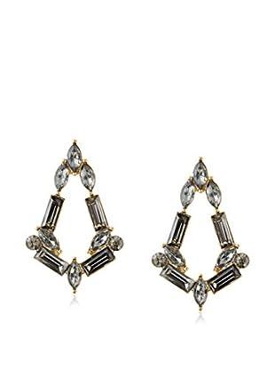 Fragments Baguette Post Earrings