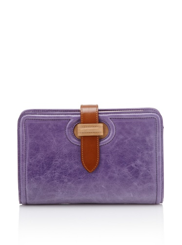Nanette Lepore Women's Divided Clutch with Strap (Violet)