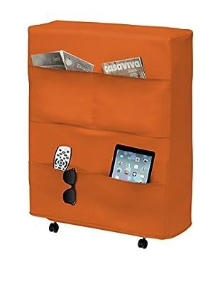 Brenda Task 3 Rete Pieghevole Ortop. Con Materasso  Arancione