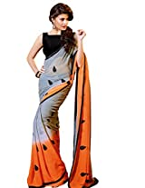 Trendzstyle Awesome Chiffon Saree With Blouse(TZ_Jacqueline)
