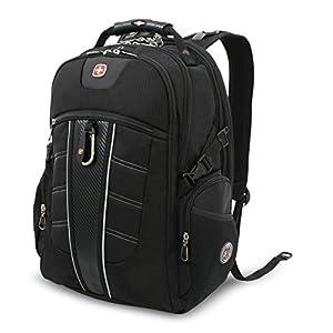 SwissGear SA1753 Laptop Backpack-Black