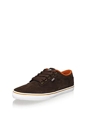 DVS Men's Daewon 12'er Shoe (Brown Suede)