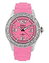 Colori Analog Pink Dial Women's Watch - 5-COL116