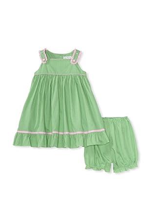 Bebe Mignon Baby Sundress (Green)
