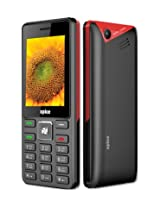 Spice Boss M-5701 Dual Sim Mobile - Black+Red