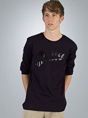 By Basi Camiseta Básica (azul marino)