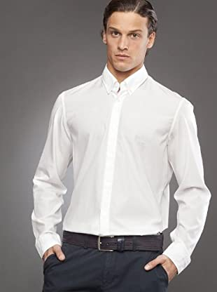 Hugo Boss Camisa Cuadros (blanco)