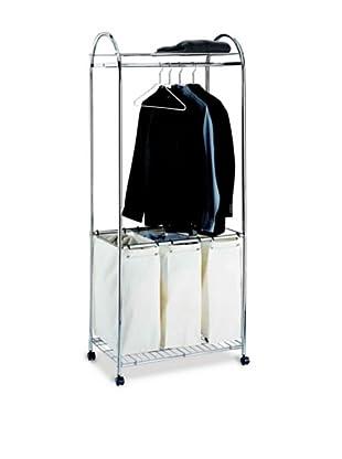 Organize It All Chrome Laundry Center