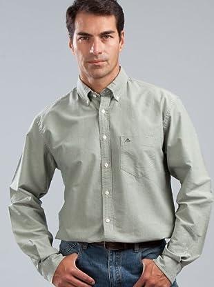 Cortefiel Camisa Lisa (Verde)