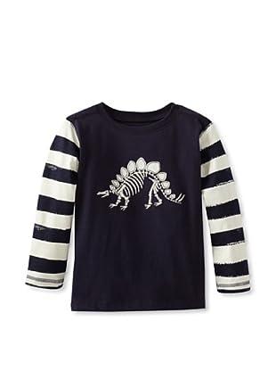 Hatley  Camiseta Decelia (Azul Marino / Blanco)