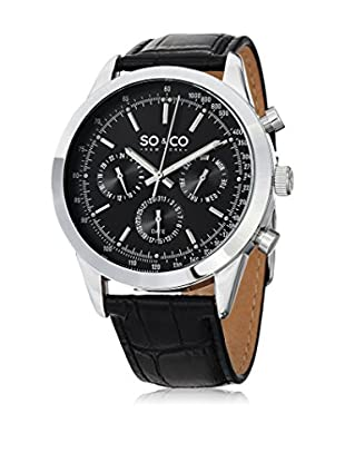SO & CO New York Quarzuhr Man GP15215 44 mm