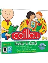 Brand New Caillou Ready To Read Jc (Works With: WIN XP VISTA WIN 7/MAC 10.1 OR LATER)