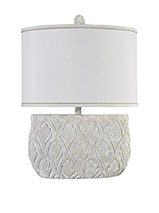 StyleCraft Jane Seymour Transitional 1-Light Table Lamp, Natural
