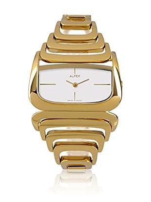 Alfex Quarzuhr 5669_021 40 mm gelbgold
