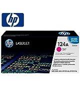 HP 124A Magenta Original LaserJet Toner Cartridge - Q6003A