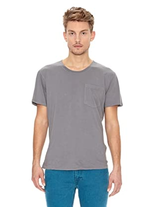 Nudie Jeans Camiseta Básica (Azul)
