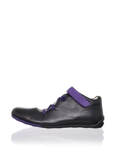 umi Kid's Vybe Ballet Flat (Toddler/Little Kid/Big Kid) (Black/Purple)