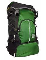 TLC Summitter Dark Green 60 Ltrs Laptop Rucksack