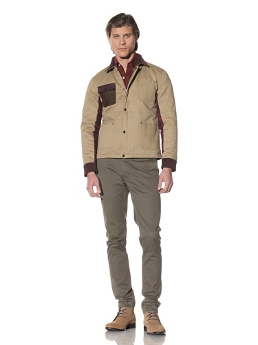 Shades of Grey by Micah Cohen Men's Quilted Jacket (Honey)