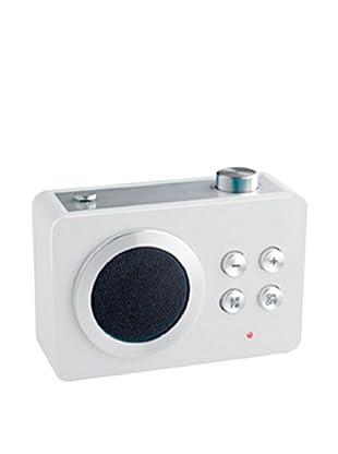 Lexon Mini Dolmen Radio, White