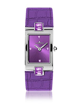 Jacques Lemans Quarzuhr Vedette 1-1423 violett 20 x 33 mm