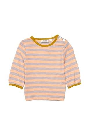 Noa Noa Camiseta Sailor (Gris / Naranja)