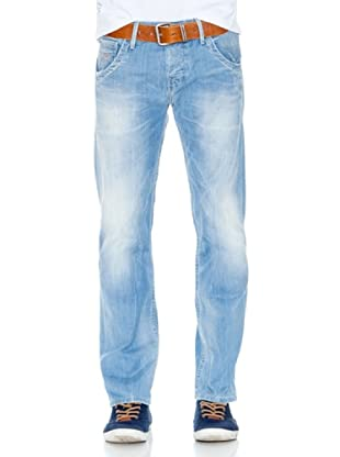Pepe Jeans London Vaquero Tooting (Azul Medio)
