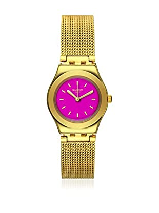 Swatch Reloj de cuarzo Woman Twin Pink 25 mm