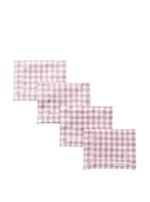 Sferra Set of 4 Piccadilly Cocktail Napkins (Bayberry)