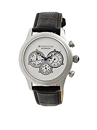 Heritor Automatic Uhr Earnhardt Herhr3101 schwarz 46  mm
