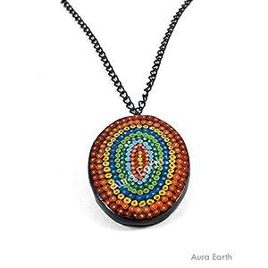 AUrA-EArTH Mandala Necklace