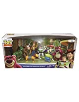 Disney ( Disney ) Pixar ( Pixar ) Toy Story Welcome to Sunnyside Starter 8-pack Collectible figures s ( parallel import )