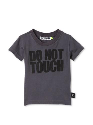 NUNUNU Kid's Do Not Touch Tee (Dark Grey)