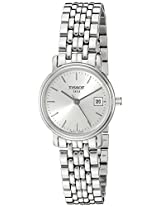 Tissot Desire Analog Silver Dial Women's Watch T52128131